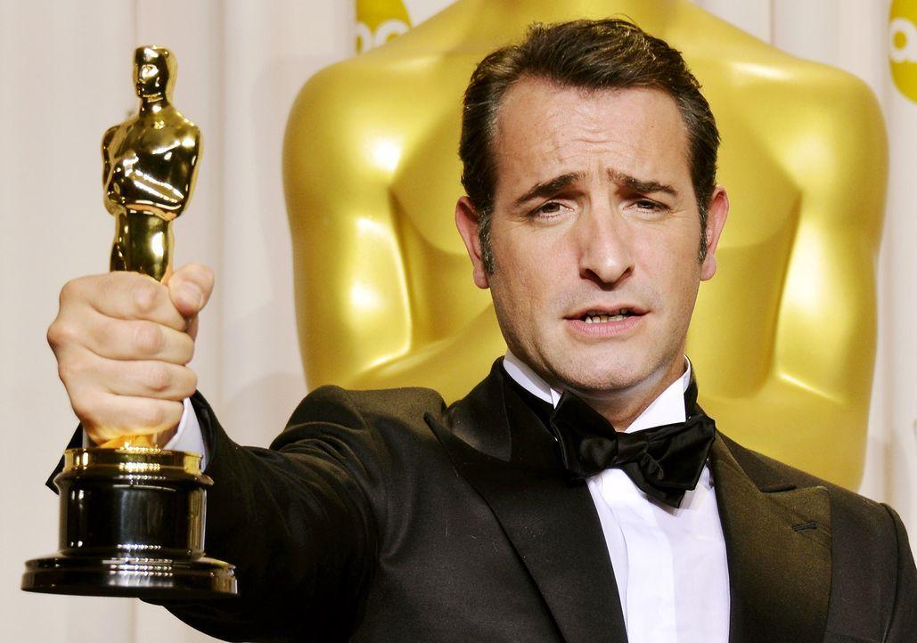Bester-Hauptdarsteller-2012-Jean-Dujardin-AFP - Bildquelle: AFP