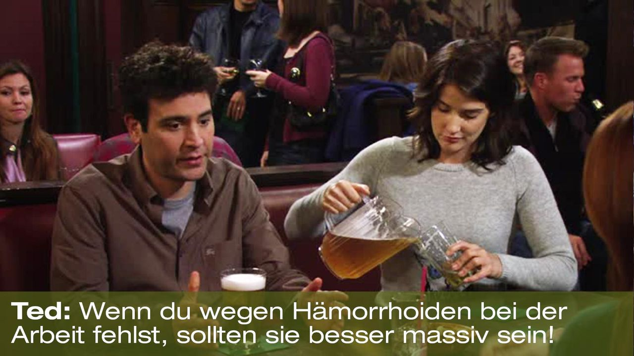 how-i-met-your-mother-zitat-quote-staffel-8-episode-8-zwoelf-wuschige-weiber-twelfe-horny-women-2-ted-foxpng 1600 x 900 - Bildquelle: 20th Century Fox