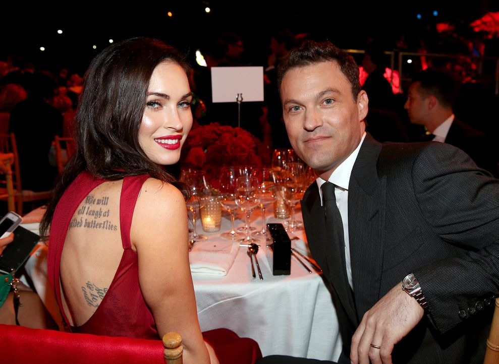 Megan-Fox-Brian-Austin-Green-141110-getty-AFP - Bildquelle: getty-AFP