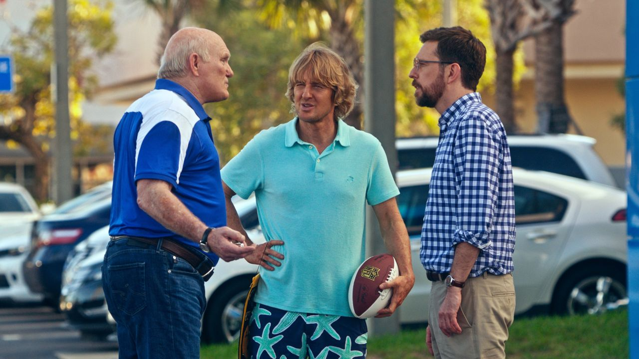 (v.l.n.r.) Terry Bradshaw (Terry Bradshaw); Kyle Reynolds (Owen Wilson); Peter Reynolds (Ed Helms) - Bildquelle: 2017 Warner Bros. Ent. © Alcon Entertainment, LLC. All Rights Reserved.