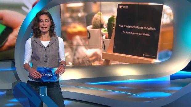 Galileo - Galileo - Samstag: Deutschland Streitet: Bargeldlos Zahlen