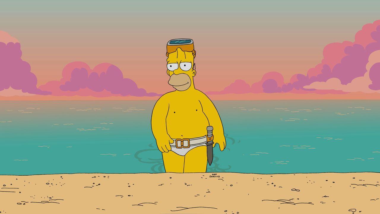 Genießt die Vorzüge die er durch Lisas neue Freundin hat: Homer ... - Bildquelle: 2015 Fox and its related entities.  All rights reserved.