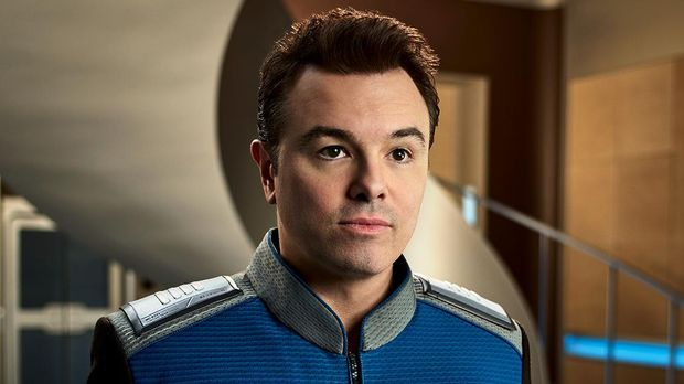 Seth McFarlane spielt Captain Ed Mercer in The Orville