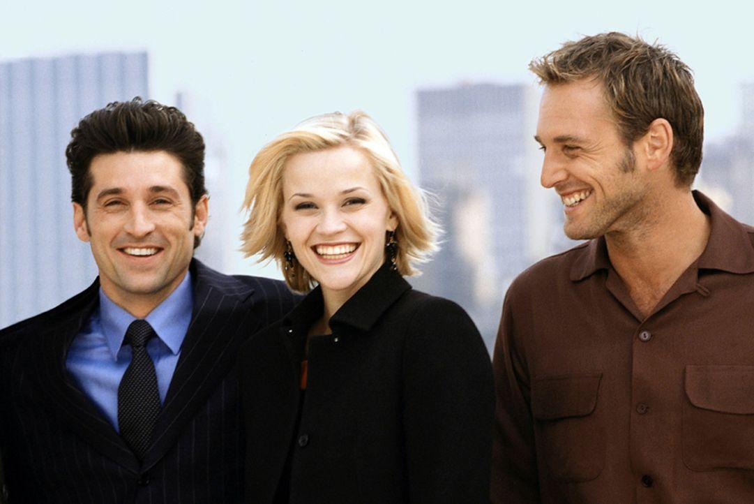 Hochzeit mit Hindernissen: Melanie (Reese Witherspoon, M.), Jake (Josh Lucas, r.) und Andrew (Patrick Dempsey, l.) ... - Bildquelle: Touchstone Pictures