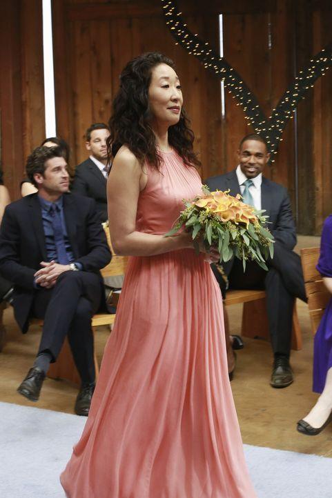 Die langersehnte Hochzeit nimmt eine überraschende Wendung. Christina (Sandra Oh) ist mehr als nur entsetzt ... - Bildquelle: Ron Tom 2013 American Broadcasting Companies, Inc. All rights reserved.