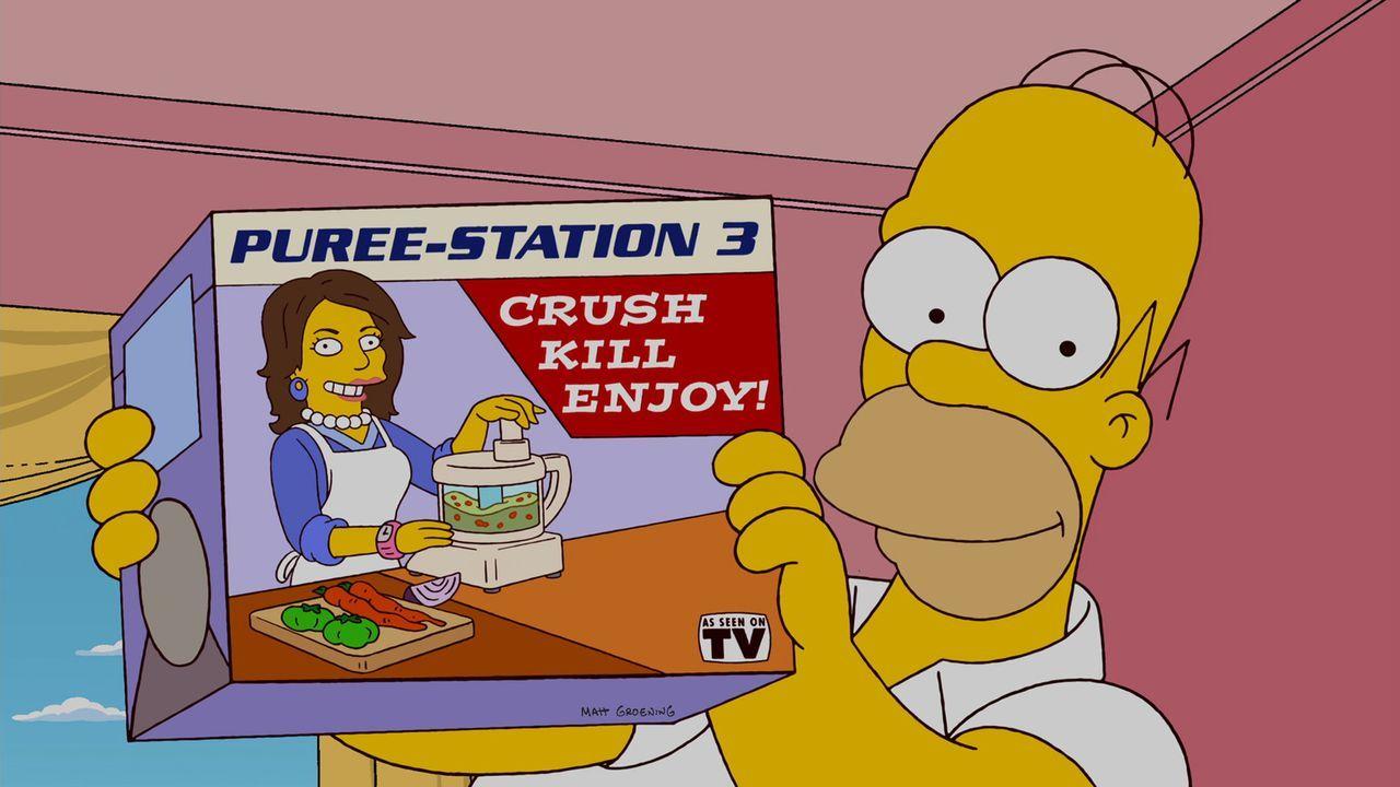 Ahnt nicht, dass Bart sich rächen will, nachdem er ihn in einen Hasenkäfig gesperrt hat: Homer ... - Bildquelle: und TM Twentieth Century Fox Film Corporation - Alle Rechte vorbehalten