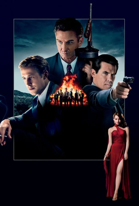 Gangster Squad - Artwork - Bildquelle: Warner Brothers