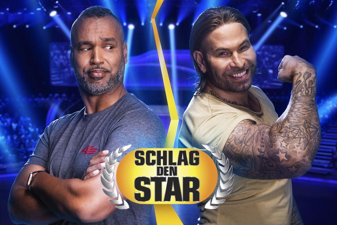 Schlag den Star - Artwork - Patrick Esume (l.); Tim Wiese (r.) - Bildquelle: Steffen Z. Wolff ProSieben / Steffen Z. Wolff