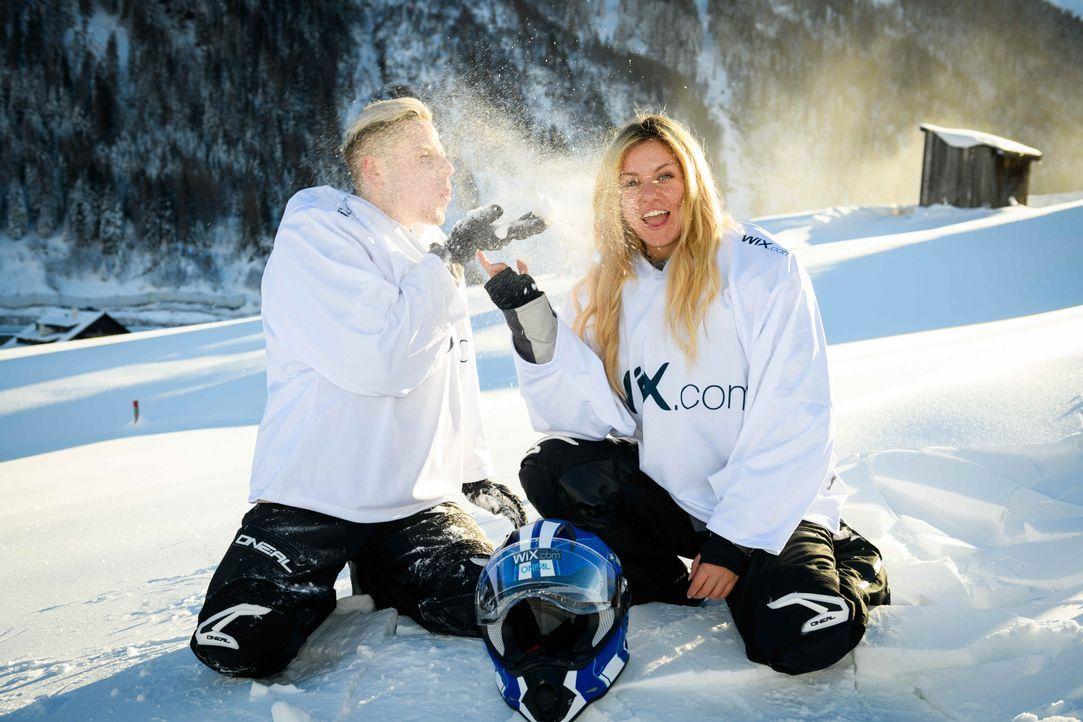 Rewi & Kelly - Bildquelle:  ProSieben/Willi Weber