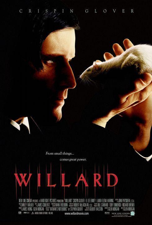Willard  - Plakatmotiv (mit Crispin Glover) - Bildquelle: Warner Bros. GmbH