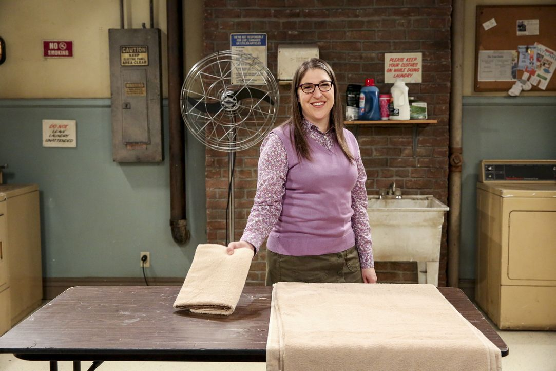 Amy Farrah Fowler (Mayim Bialik) - Bildquelle: Michael Yarish 2019 CBS Broadcasting, Inc. All Rights Reserved / Michael Yarish