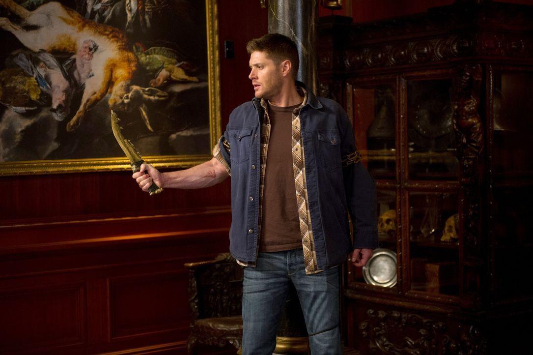Noch ahnt Dean (Jensen Ackles) nicht, welchen Einfluss die erste Klinge wirklich auf ihn hat ... - Bildquelle: 2013 Warner Brothers