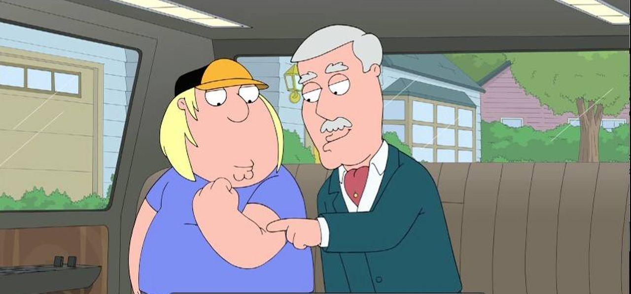 Der Vater (r.) von Lois hat sich das Bein gebrochen. Leider haben alle Familienmitglieder keine Zeit, ihn zu pflegen, und so fällt die undankbare Au... - Bildquelle: 2014 Twentieth Century Fox Film Corporation. All rights reserved.