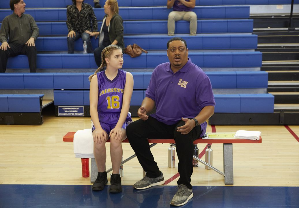 Dylan DiMeo (Kyla Kenedy, l.); Kenneth Clements (Cedric Yarbrough, r.) - Bildquelle: 2018-2019 American Broadcasting Companies. All rights reserved.
