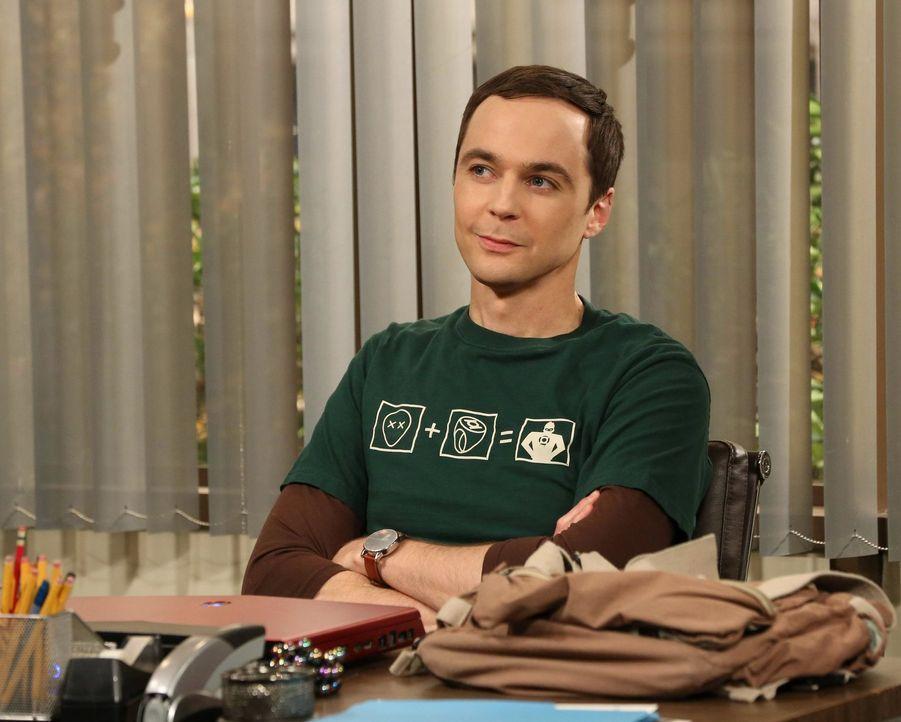 Sheldon (Jim Parsons) und Amy schaffen es, sich mit ihren Geschenken gegenseitig zu überraschen ... - Bildquelle: Warner Bros. Television