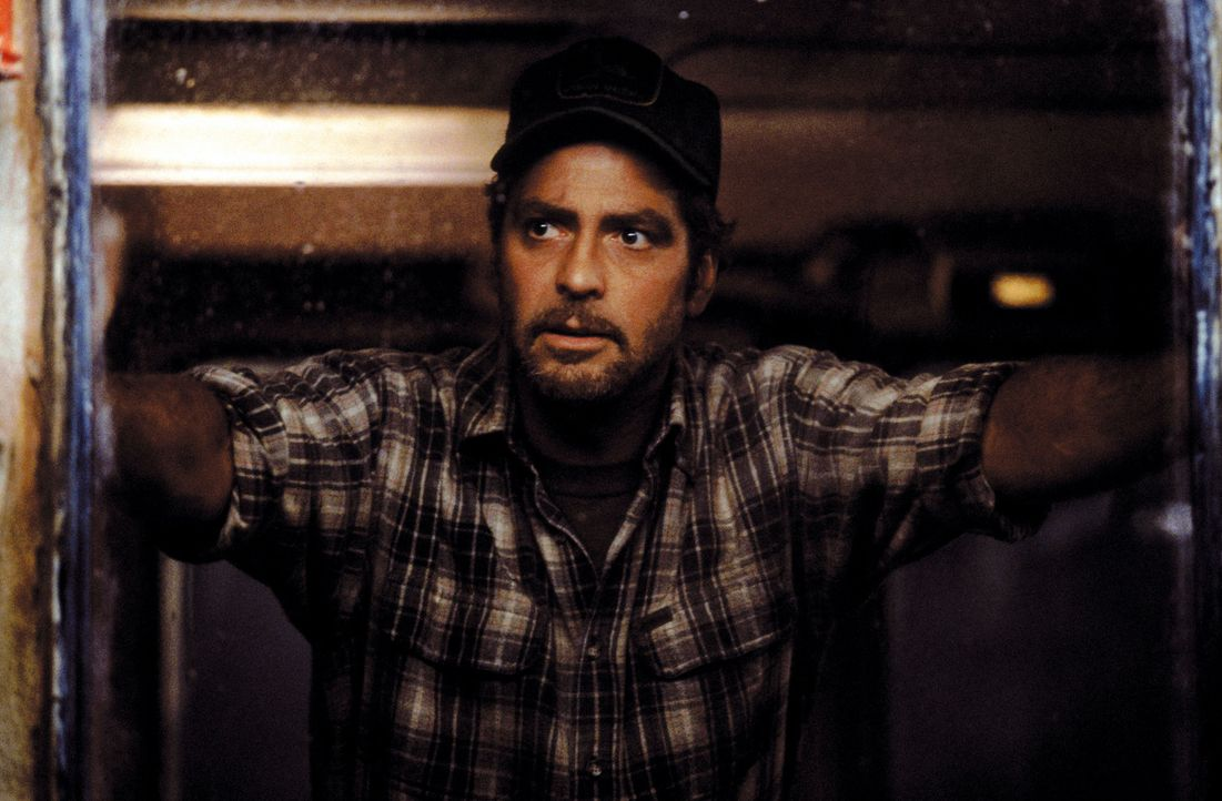 Getrieben von zuletzt sehr unbefriedigenden Fangergebnissen, hofft der erfahrenen Captain Billy Tyne (George Clooney) auf einen letzten großen Fang... - Bildquelle: Warner Bros. Pictures