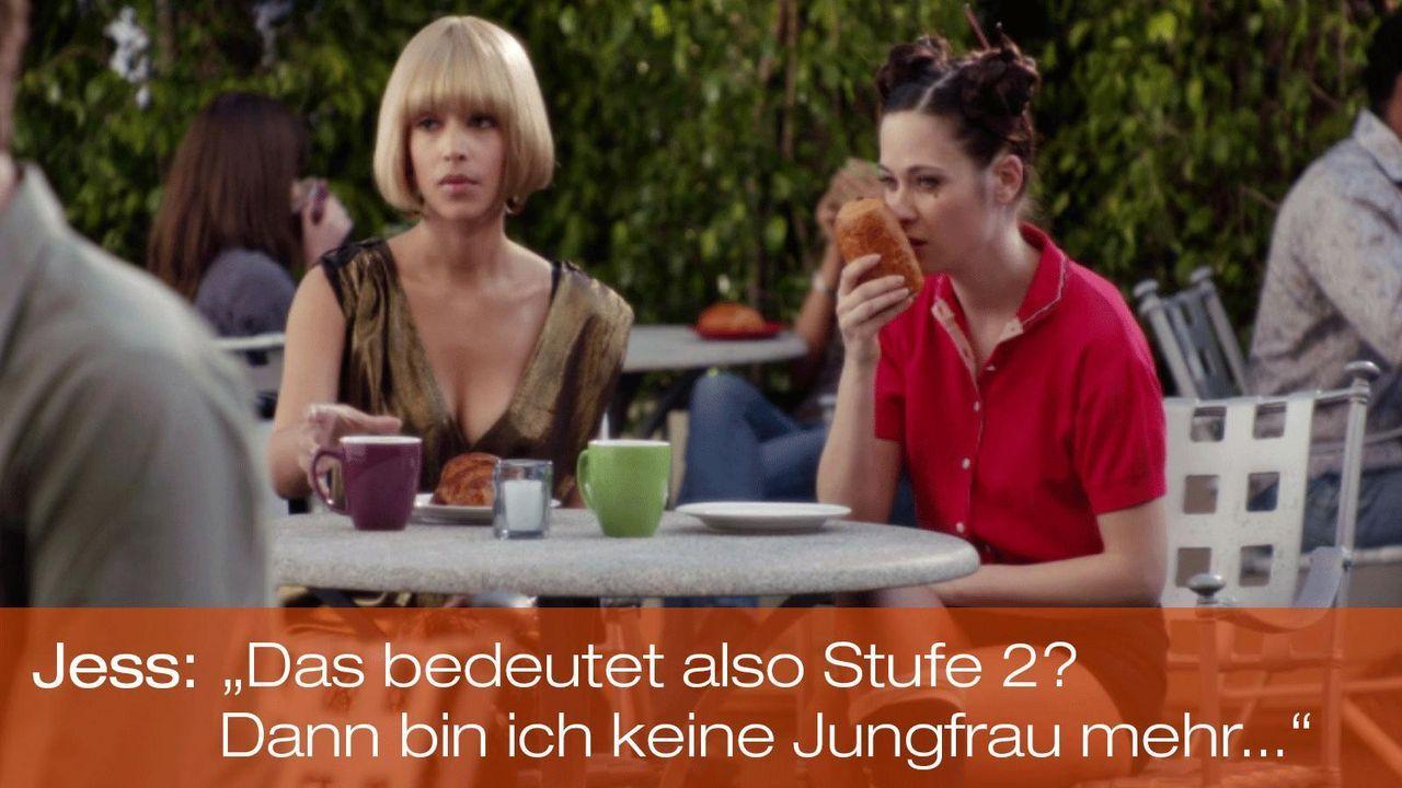 New Girl - Zitate - Staffel 1 Folge 19 - Cece (Hannah Simone) und Jess (Zooey Deschanel) 1600 x 900 - Bildquelle: 20th Century Fox