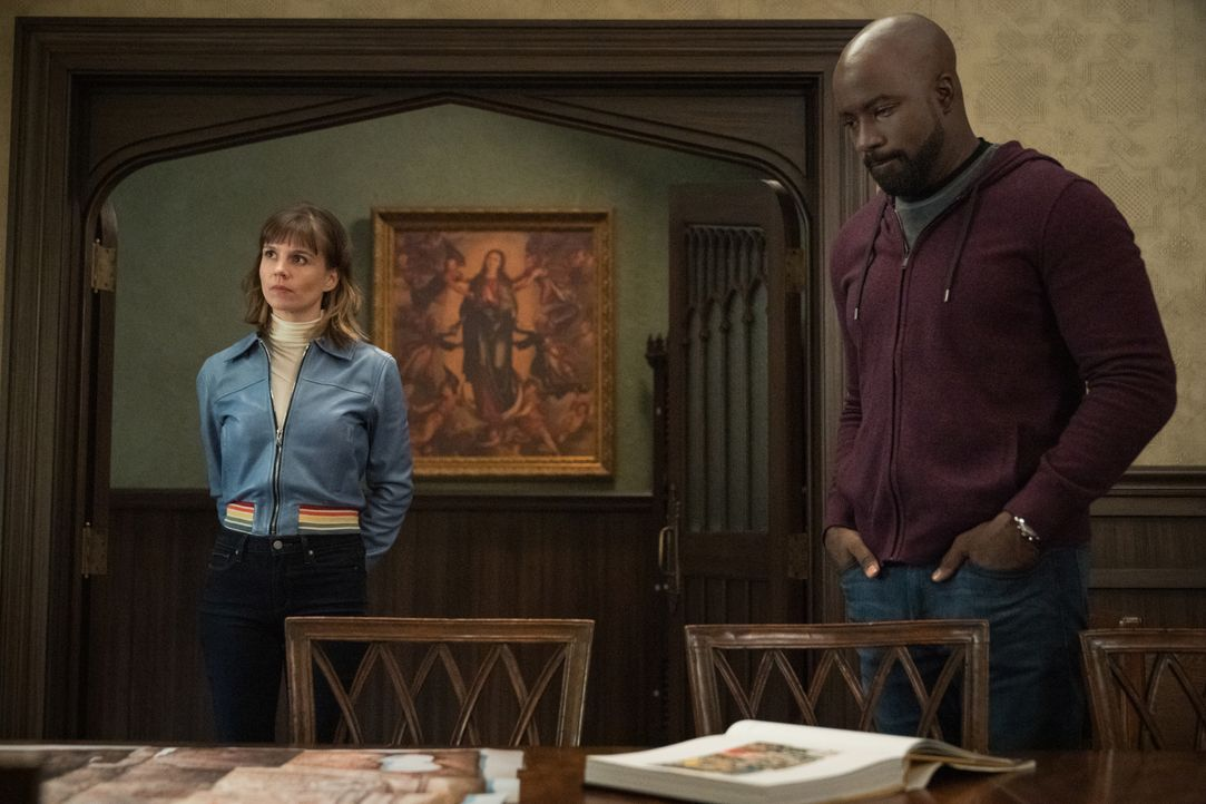 Kristen Bouchard (Katja Herbers, l.); David Acosta (Mike Colter, r.) - Bildquelle: Elizabeth Fisher 2019 CBS Broadcasting, Inc. All Rights Reserved / Elizabeth Fisher