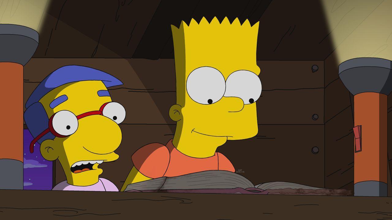 Milhouse (l.); Bart (r.) - Bildquelle: 2021 by Twentieth Century Fox Film Corporation.