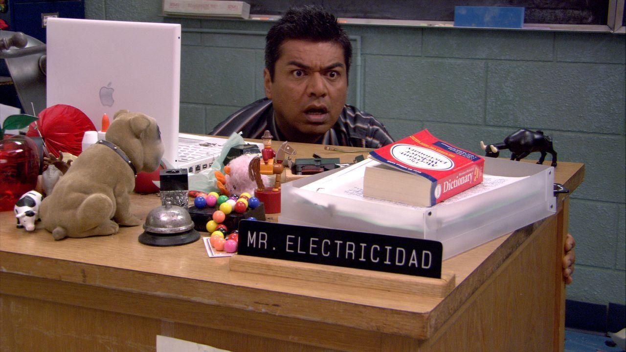 Mr. Electric (George Lopez) hat nur einen Traum: Er will alle Träume der Welt vernichten. Doch eines Tages lehrt ihn ein kleiner, fantasiebegabter... - Bildquelle: 2005 Miramax Film Corp. All Rights Reserved.