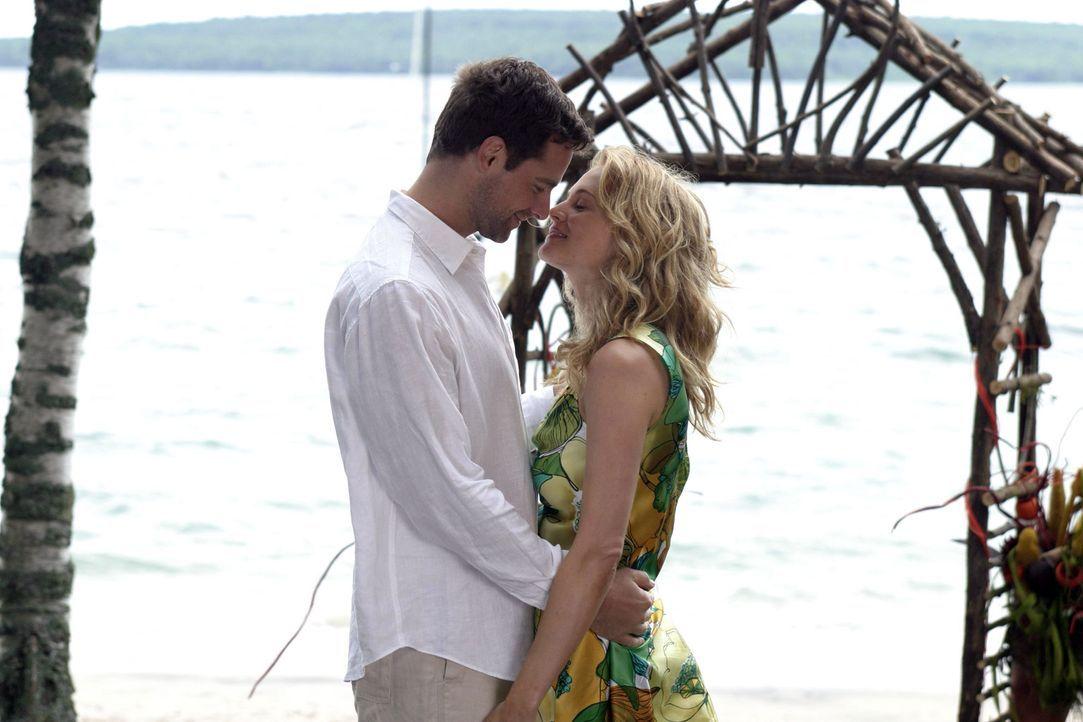 Finden endlich zueinander: Pippa (Heather Graham, r.) und Ian (David Sutcliffe, l.) ... - Bildquelle: First Look Media
