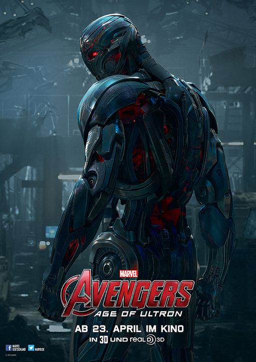 Avengers: Age of Ultron - Charakterposter - Bildquelle: Walt Disney Studios Motion Pictures Germany