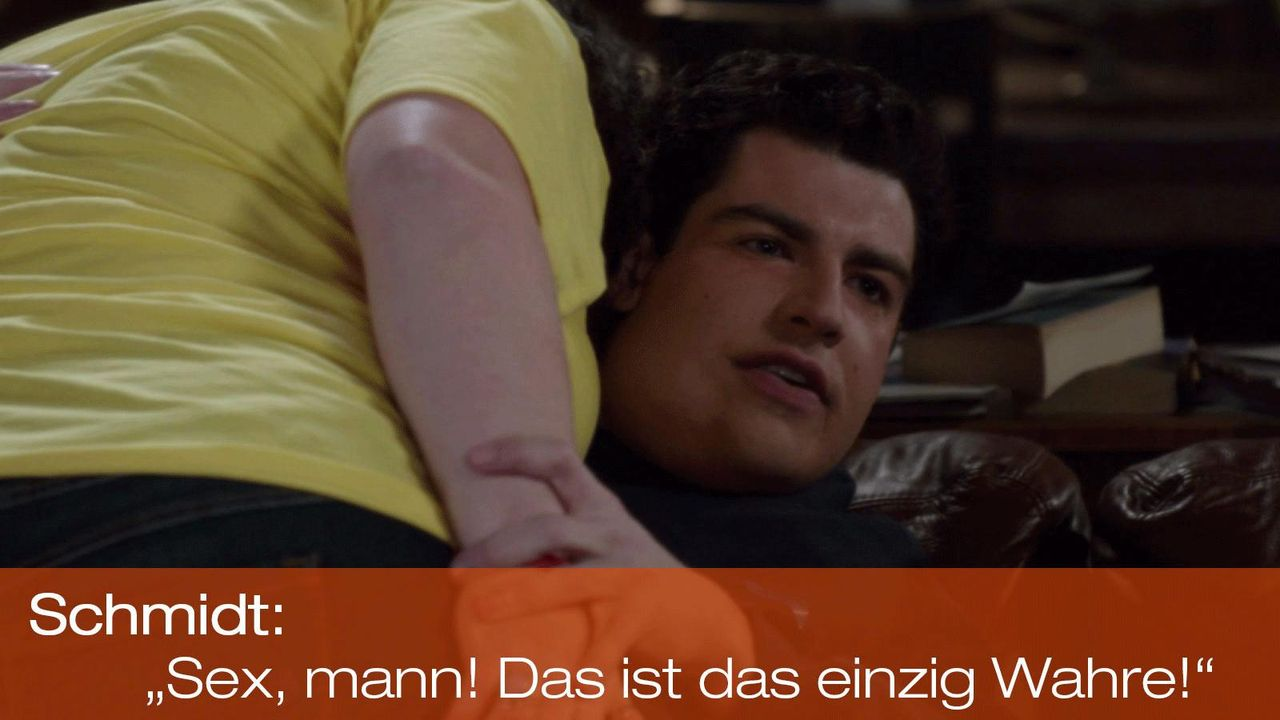 New Girl - Zitate - Staffel 1 Folge 19 - Schmidt (Max Greenfield) 1600 x 900 - Bildquelle: 20th Century Fox