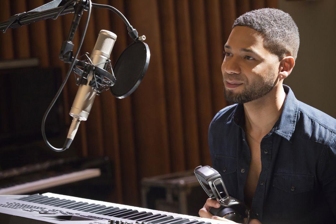 Bekommt unerwartete Hilfe von Cookie beim Ausarbeiten eines neuen Songs: Jamal (Jussie Smollett) ... - Bildquelle: Chuck Hodes 2015-2016 Fox and its related entities.  All rights reserved.