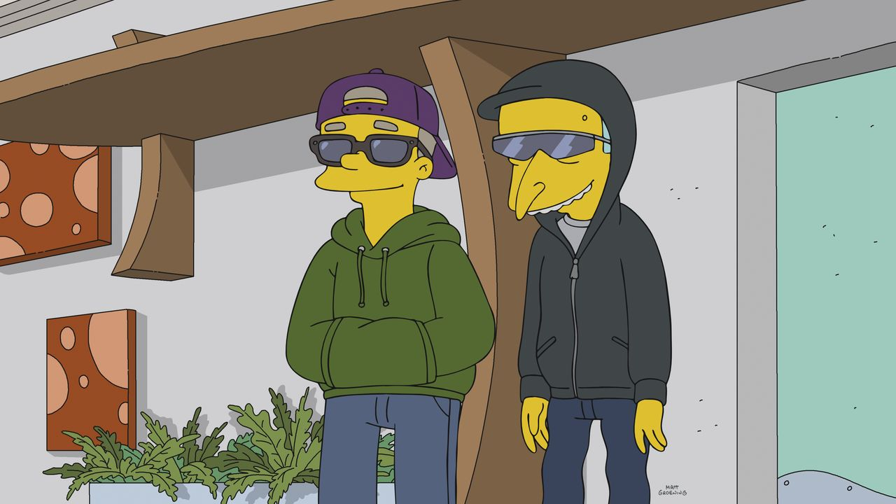 Smithers (l.); Mr. Burns (r.) - Bildquelle: 2018-2019 Fox and its related entities.  All rights reserved.