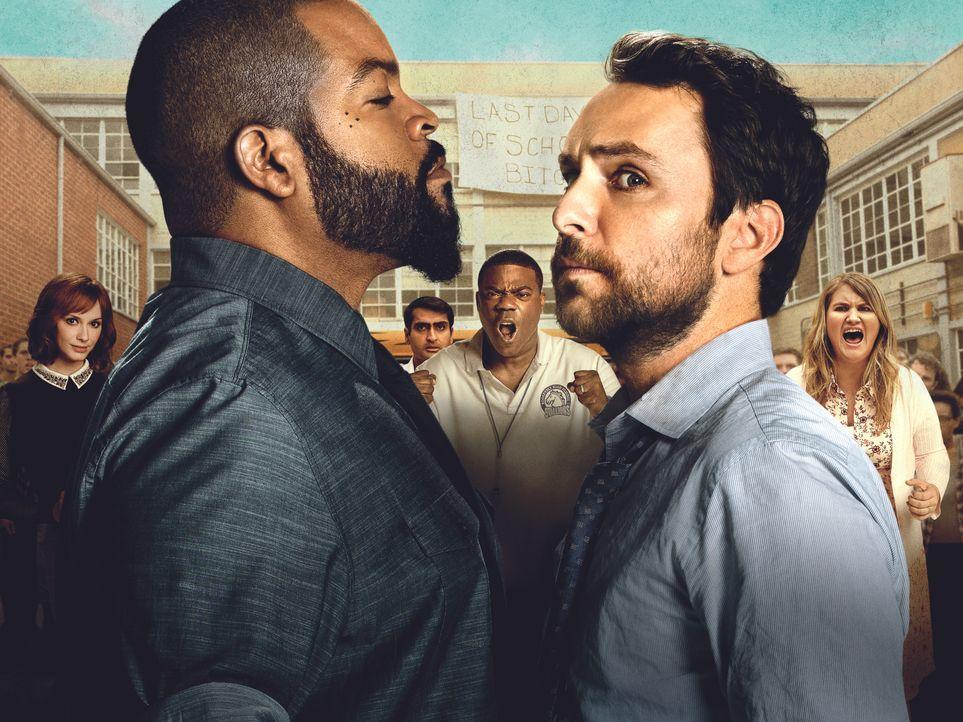 Teacher Fight - Wer petzt, wird zerfetzt - Artwork - Bildquelle: 2017 Warner Bros. Entertainment Inc., Village Roadshow Films North America Inc. and RatPac-Dune Entertainment LLC. All rights reserved.