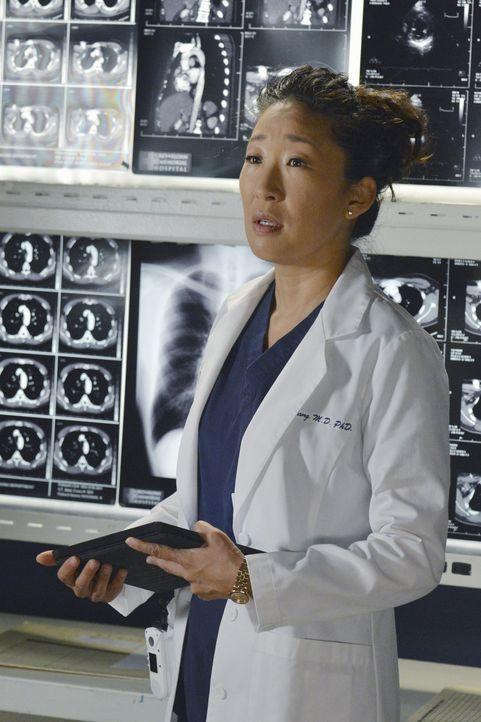 Obwohl sich Dr. Christina Yang (Sandra Oh) von Owen getrennt hat, kann sie immer noch nicht loslassen. Deshalb bittet sie ihn darum, zu versuchen, e... - Bildquelle: ABC Studios