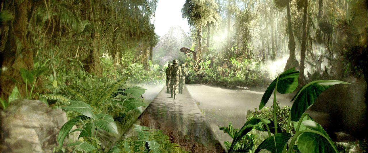 Zeitreisesafaris in die Vergangenheit sind absolut in Mode. Eines Tages jedoch bricht ein Teilnehmer der Dinosaurierjagd die strengen Regeln und lö... - Bildquelle: ApolloMedia