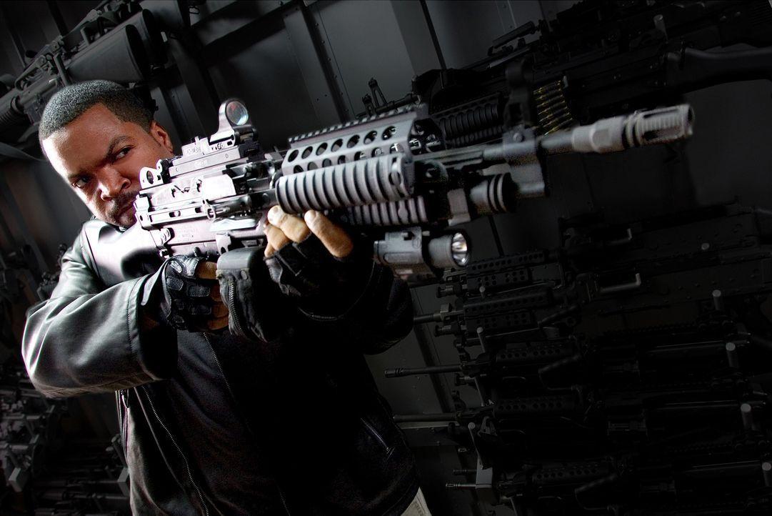 Bei seiner Mission bebt Washington, D.C. buchstäblich in seinen Grundfesten: xXx Agent Darius Stone (Ice Cube) ... - Bildquelle: 2005 Revolution Studios Distribution Company, LLC. All Rights Reserved.