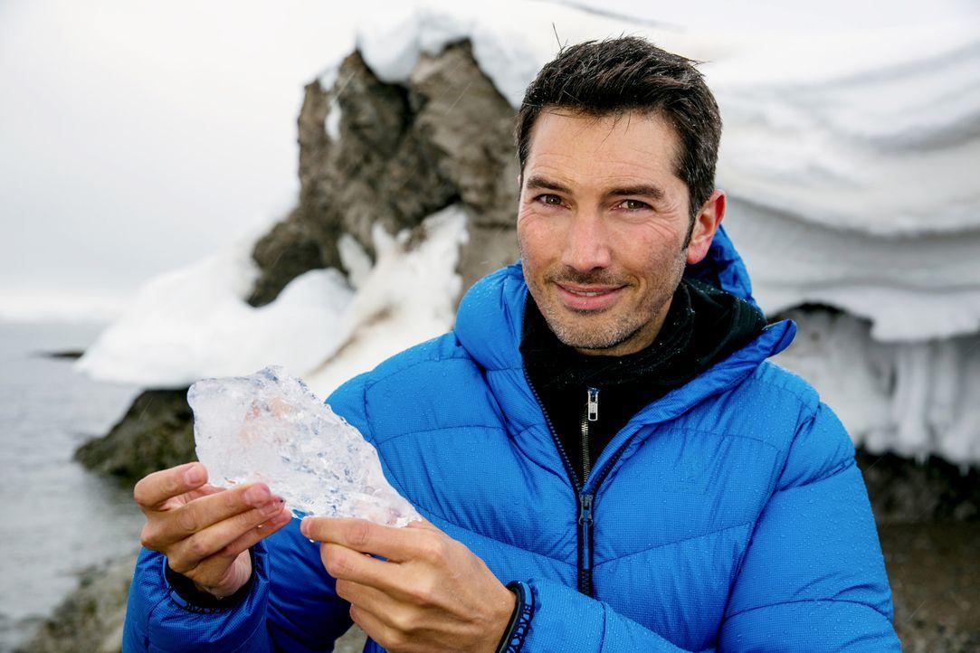 """""""Galileo""""-Reporter Stefan Gödde begibt sich auf eine Klimaexpedition rund um den Globus ... - Bildquelle: ProSieben"""