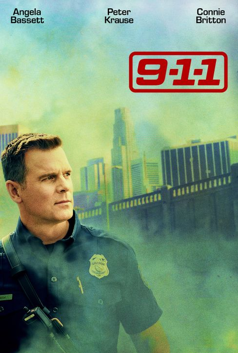 (1. Staffel) - 9-1-1- Artwork - Feuerwehr-Captain Bobby Nash (Peter Krause) - Bildquelle: 2018 Fox and its related entities.  All rights reserved.