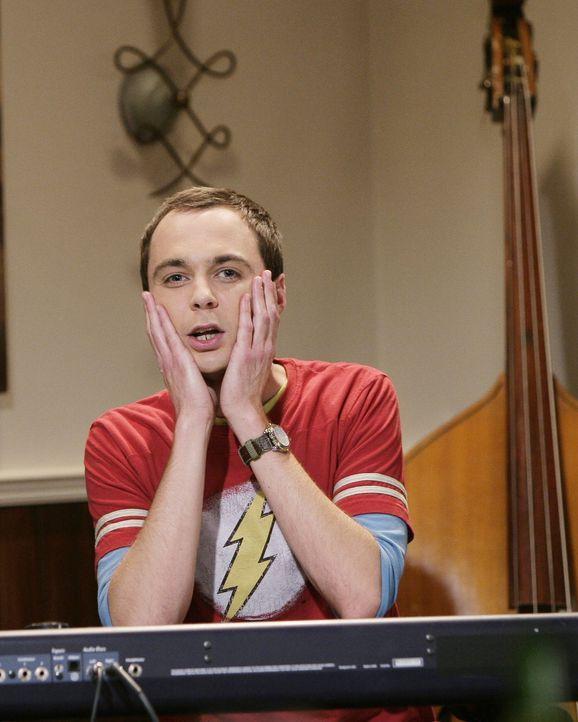 Sieht in Lalita die Heldin seiner Kindheit: Sheldon (Jim Parsons) ... - Bildquelle: Warner Bros. Television