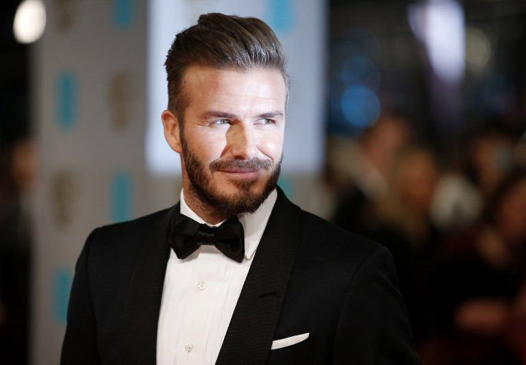 08 David Beckham - Bildquelle: AFP