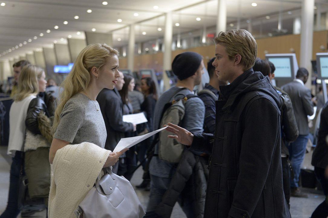 Werden Shelby (Johanna Braddy, l.) und Caleb (Graham Rogers, r.) ihre neue Aufgabe meistern können? - Bildquelle: Philippe Bosse 2015 ABC Studios