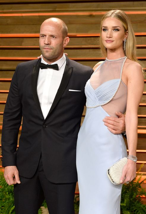 Oscars-Vanity-Fair-Party-Jason-Statham-Rosie-Huntington-140302-getty-AFP - Bildquelle: getty-AFP