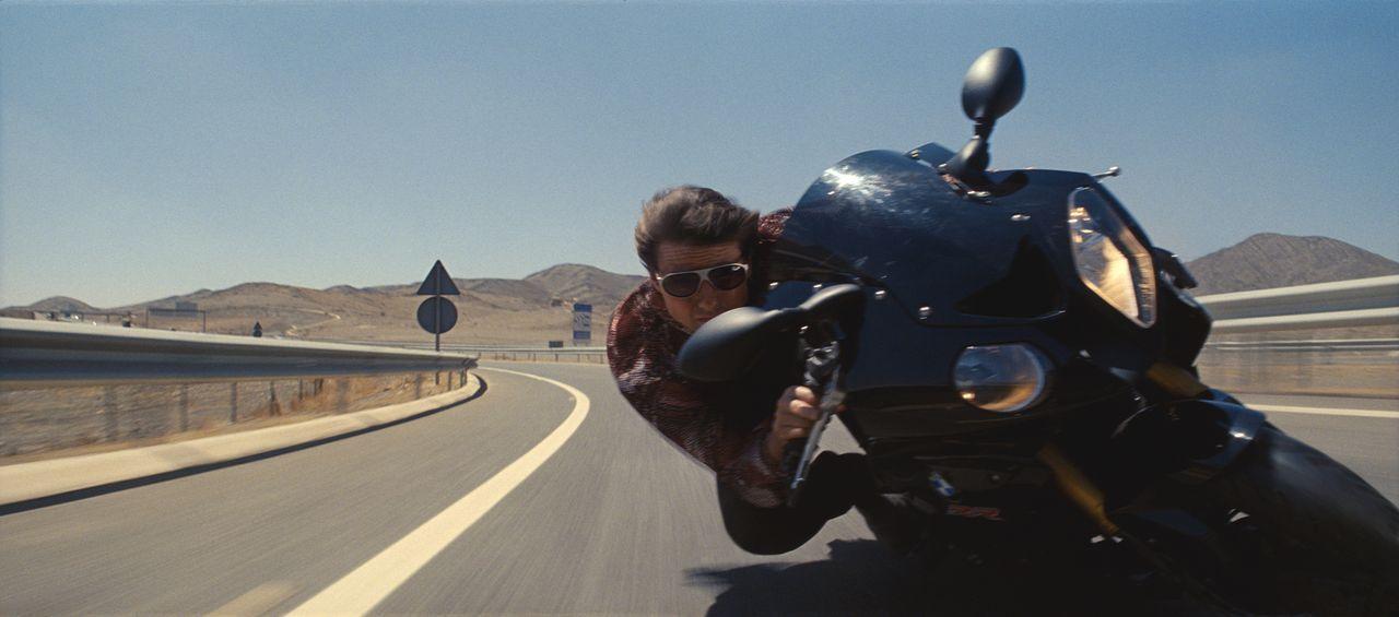 Ein Rennen gegen die Zeit beginnt. Ethan Hunter (Tom Cruise) riskiert alles, um Syndikat-Chef Solomon zu besiegen ... - Bildquelle: 2015 PARAMOUNT PICTURES. ALL RIGHTS RESERVED.