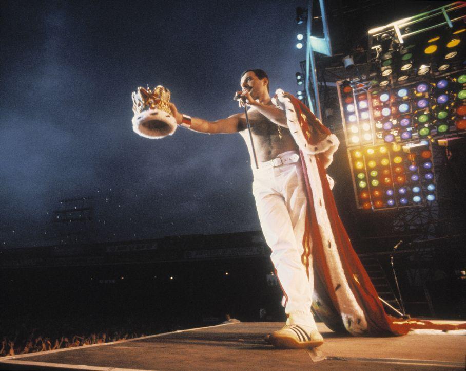 Freddie Mercury - Bildquelle: Queen Productions Ltd.