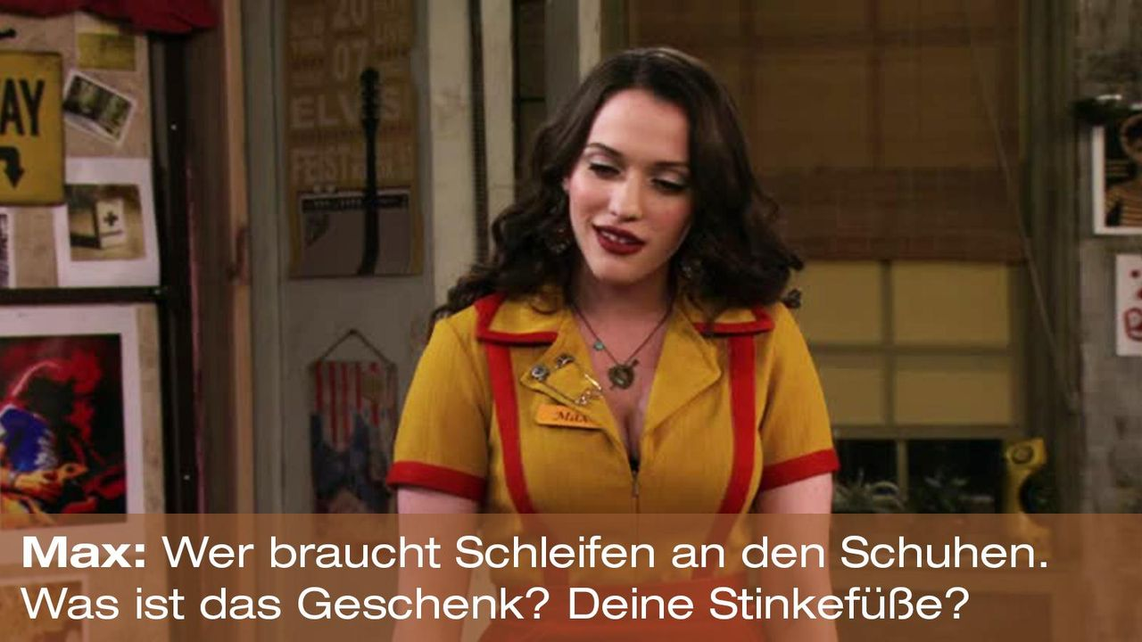2-broke-girls-zitat-quote-staffel2-episode5-darius-lachexpress-max-stinkefuesse-warnerpng 1600 x 900 - Bildquelle: Warner Brothers Entertainment Inc.