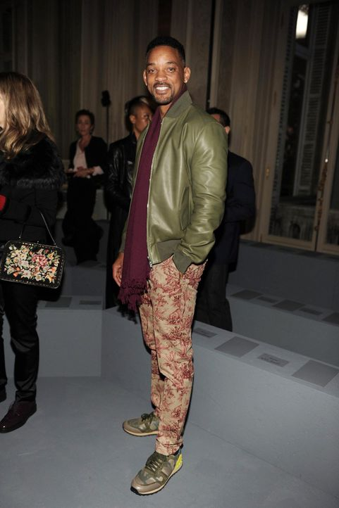 Paris-FW-Will-Smith-14-01-15-dpa - Bildquelle: dpa