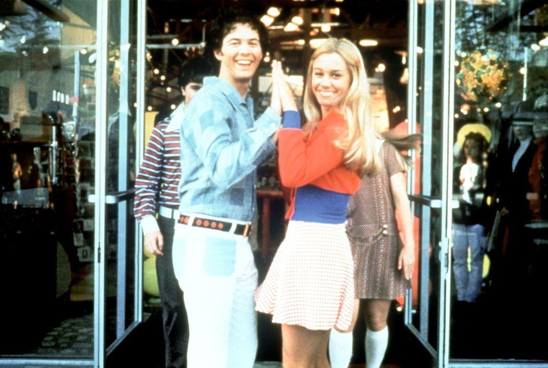 Als Älteste schon ziemlich abgehärtet: Greg (Christopher Daniel Barnes, l.) und Marcia (Christine Taylor, r.) ... - Bildquelle: Paramount Pictures