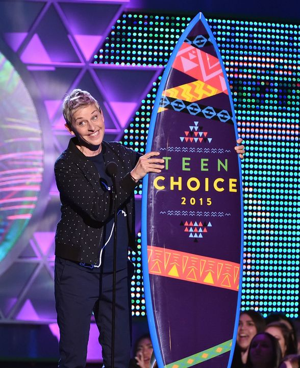 Choice-Comedian-Ellen-DeGeneres-15-08-16-getty-AFP - Bildquelle: getty-AFP