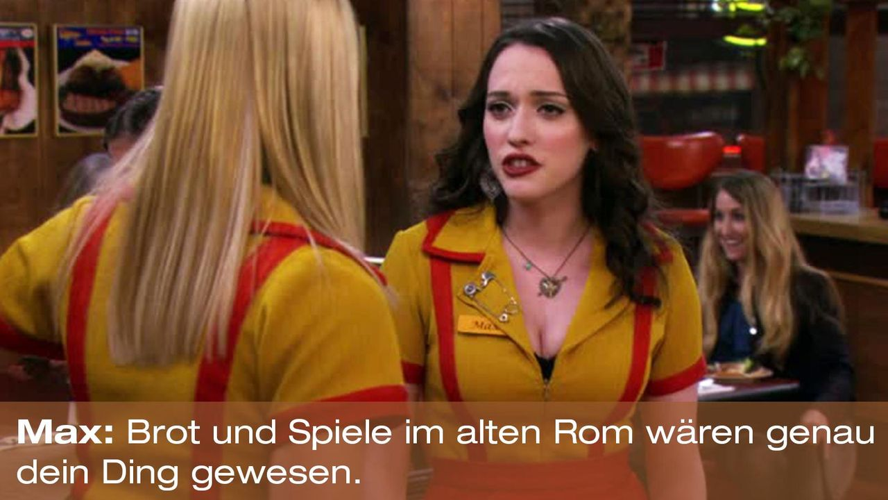 2-broke-girls-zitat-quote-staffel2-episode9-boss-max-brotspiele-warnerpng 1600 x 900 - Bildquelle: Warner Brothers