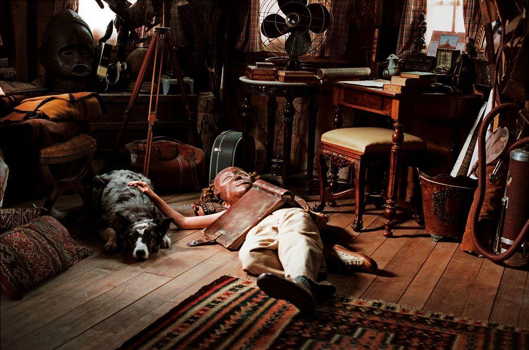Noch ahnt Arthur (Freddie Highmore) nicht, dass er schon bald das Abenteuer seines Lebens erleben wird ... - Bildquelle: TOBIS Film