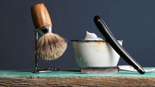 Ein Rasiermesser ist nicht nur ein Eyecatcher in jedem Badezimmer, sondern wi...