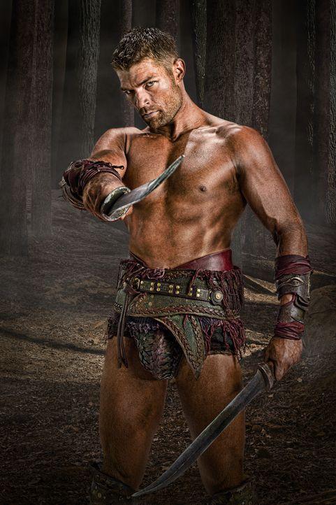 Spartacus (Liam McIntyre) strebt danach, alle Sklaven Roms zu befreien und Gaius Glabers Leben ein Ende zu setzen ... - Bildquelle: 2011 Starz Entertainment, LLC. All rights reserved.