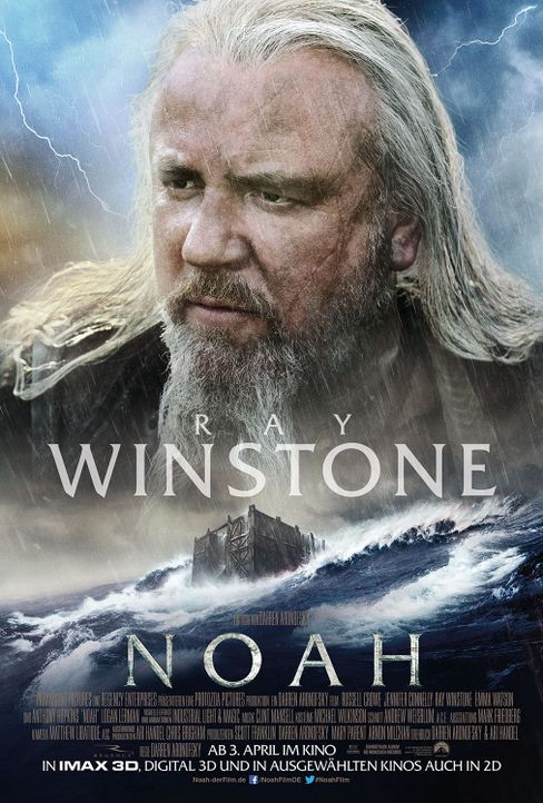 Noah Character Poster Ray Winstone - Bildquelle: Paramount